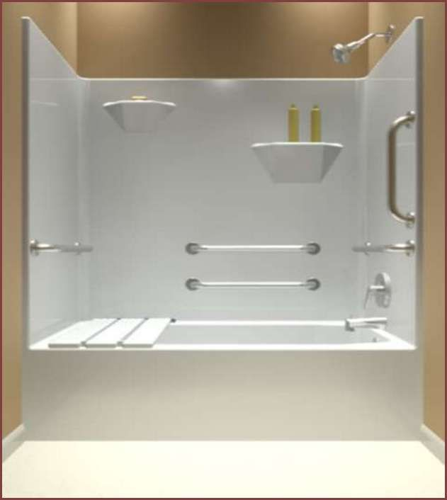 tub and shower surrounds one piece. One Piece Tub And Shower Surround  Your Home Improvements Refference Bathtub