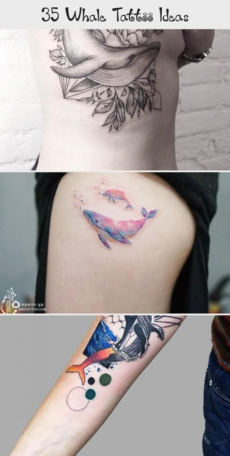 35 Whale Tattoo Ideas In 2020 Places For Tattoos Tattoos Black Tattoo Cover Up