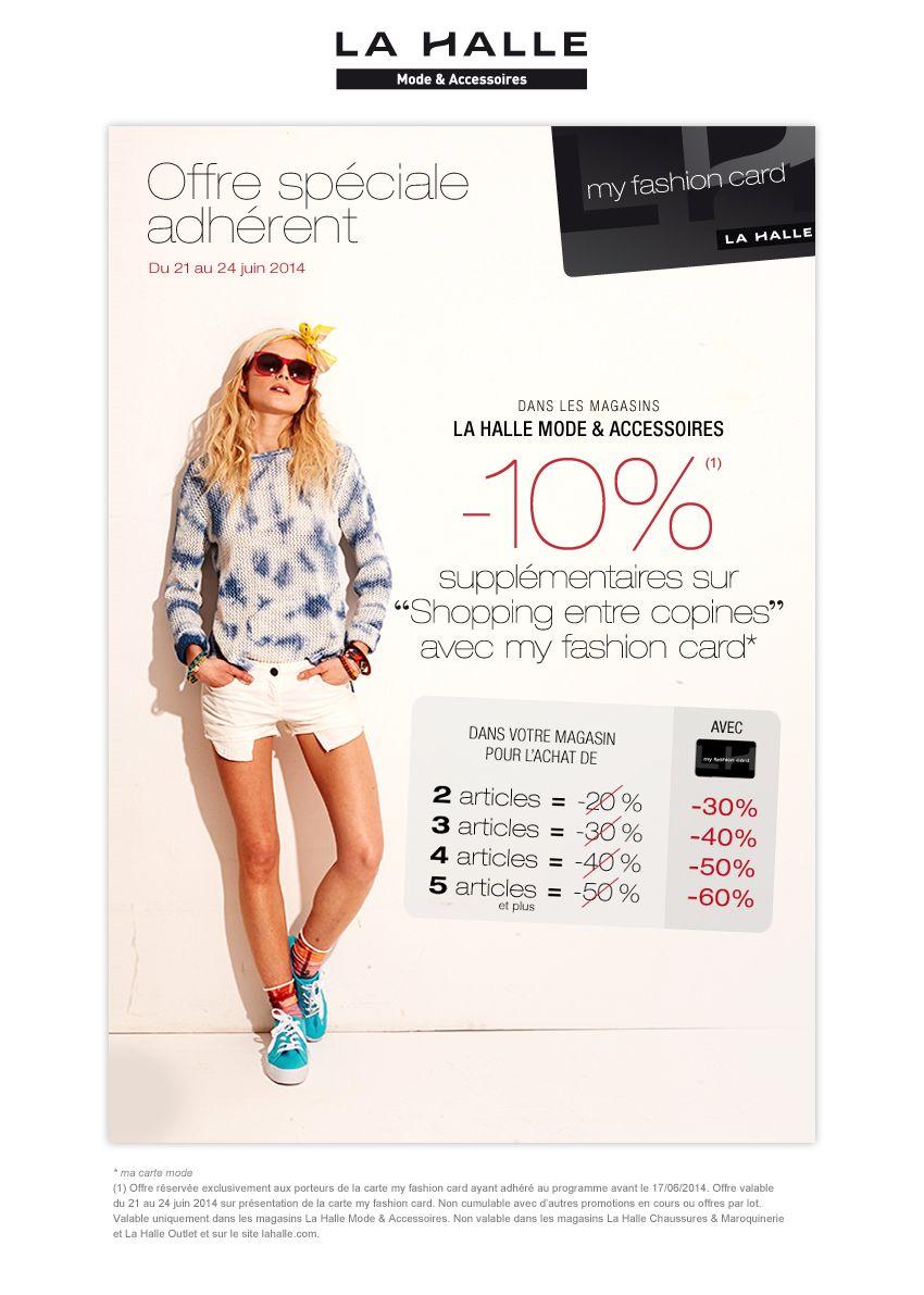 My Fashion Card Site Crm De La Halle Shopping Mode Et Agence