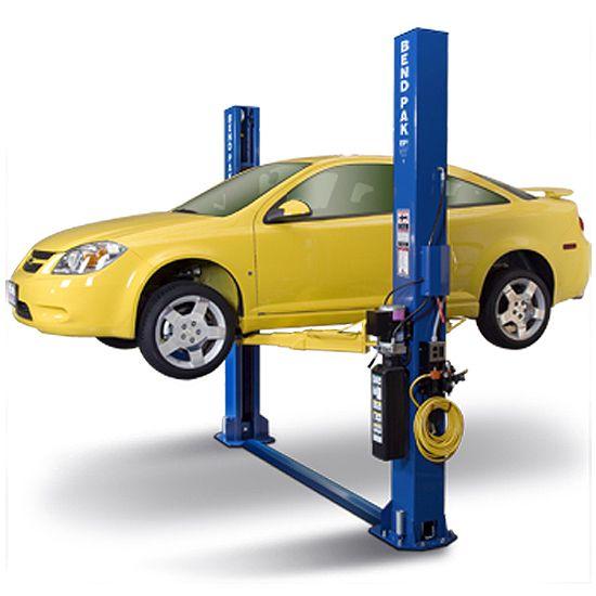 This 9 000 Lb Short Adjustable Width Chain Drive 2 Post Lift Offers Automotive Service Professionals Unparalleled Two Post Lift Lifted Cars Two Post Car Lift
