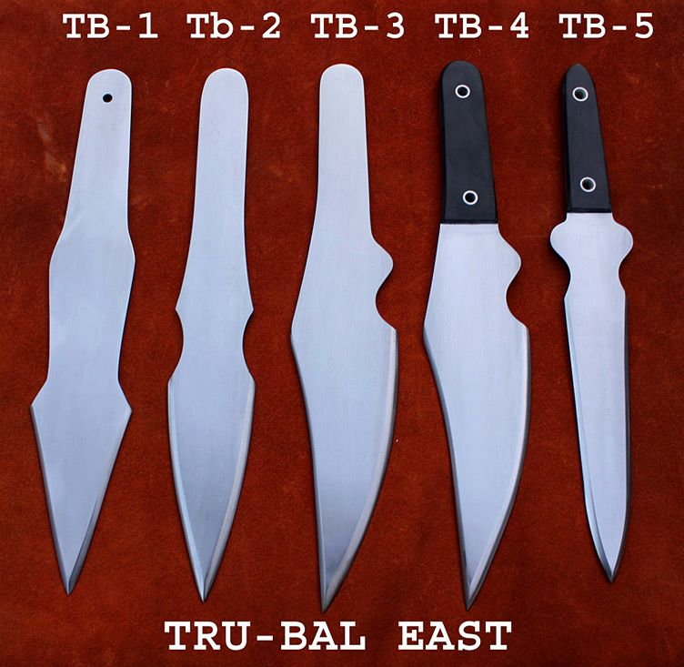 Tru-Bal East Knives