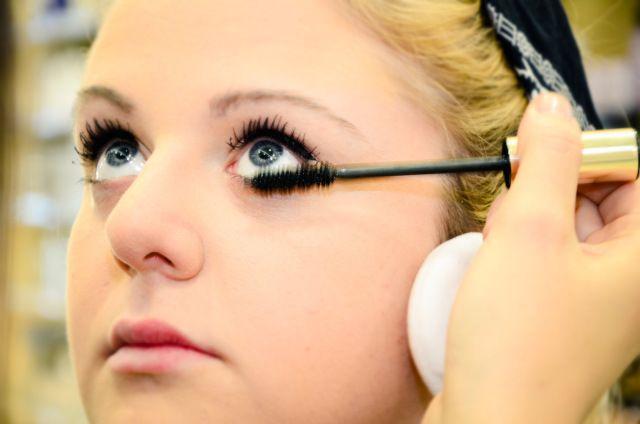 Serena Minetto @ Profumerie Rossi Torino pin up , make up , inspiration,  torinofashionbloggers, beauty