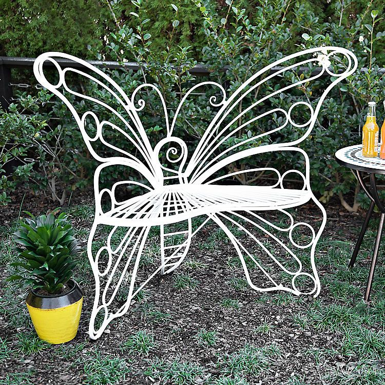 Excellent Butterfly Garden Bench At Kirkland Gardening Flower And Gmtry Best Dining Table And Chair Ideas Images Gmtryco