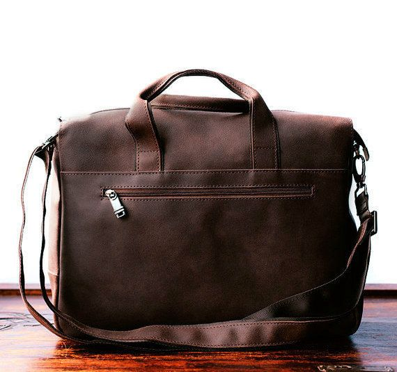7fce278854 Handmade leather men briefcase messenger large vintage shoulder laptop  everhandmade designer mens bags briefcases pinterest also