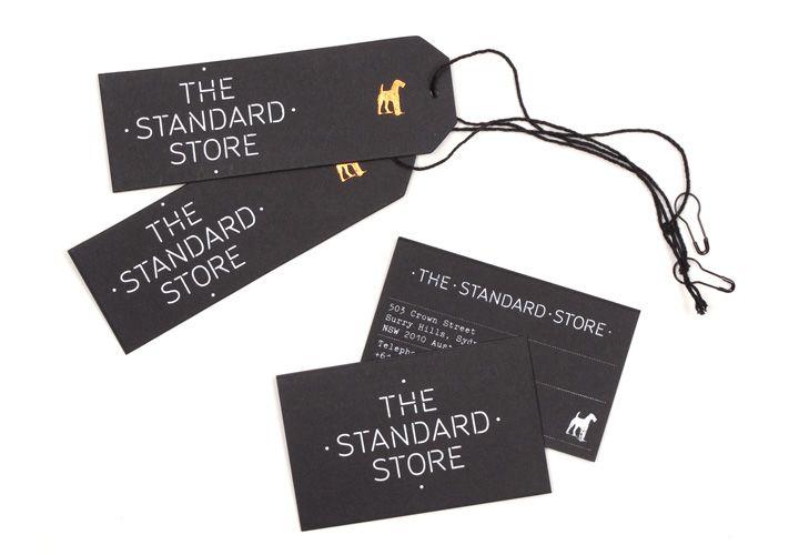 Deuce Design // The Standard Store branding