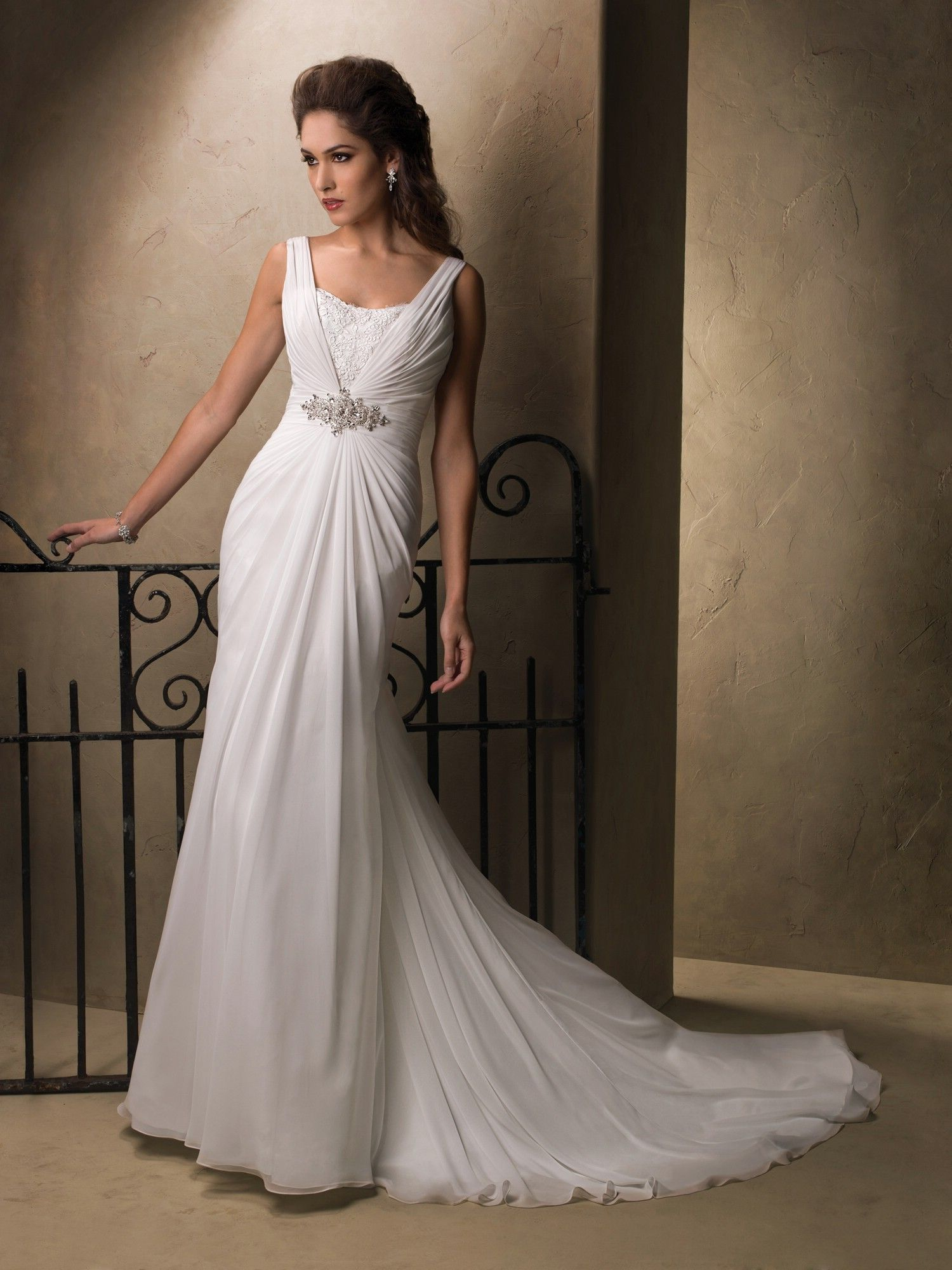 Roman Inspired Wedding Dresses Maggie Sottero Style Alma 22923