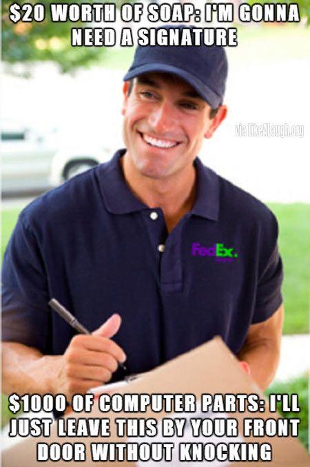 Scumbag FedEx