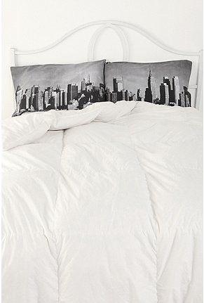 Nyc skyline pillowcase set of 2