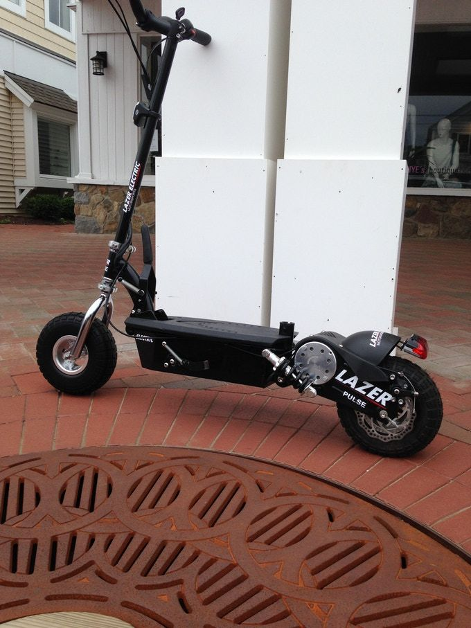 Lazer Pulse The World S Most Powerful Electric Scooters