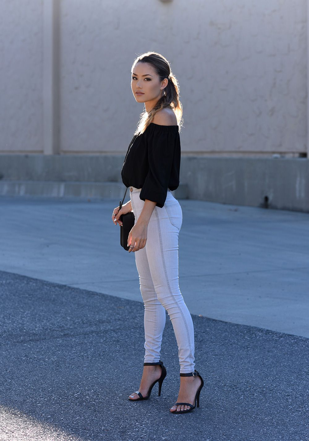 tight pants and ankle strap high heels | hot high heels | pinterest