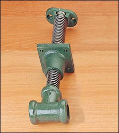 Shoulder-Vise Screw - Lee Valley Tools - to use in a DIY book press?