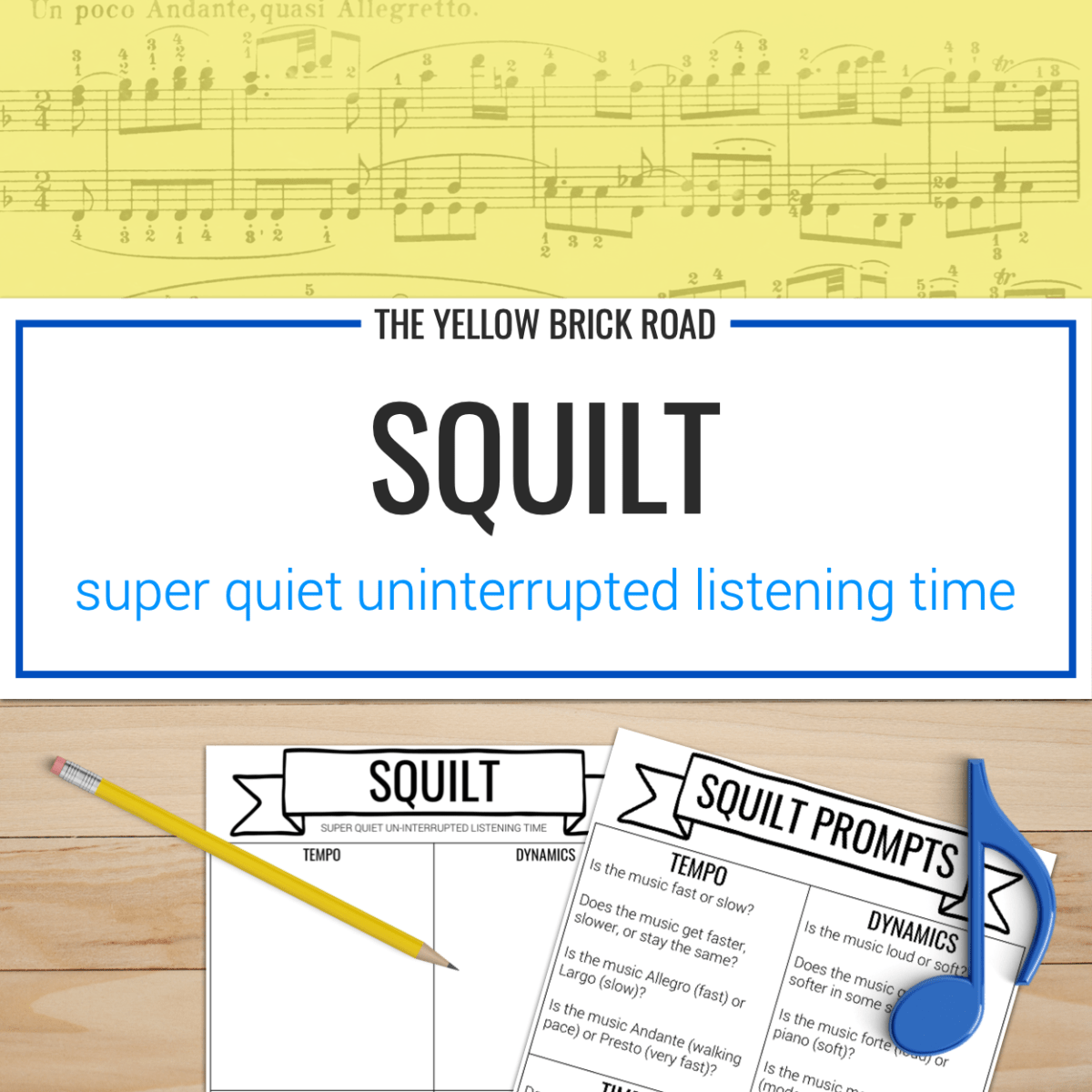 Squilt Active Listening Worksheets For Music Free