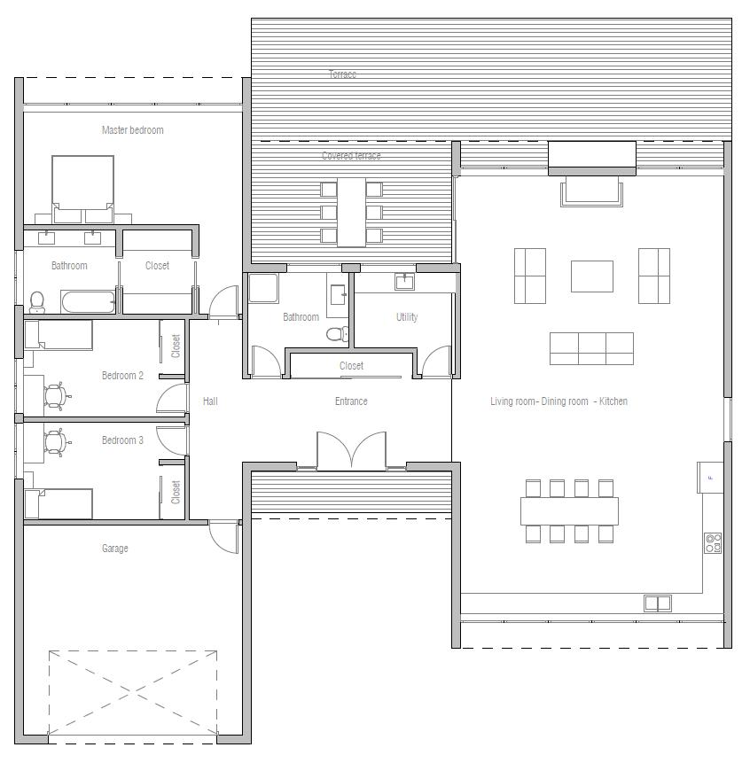 House Plan CH370