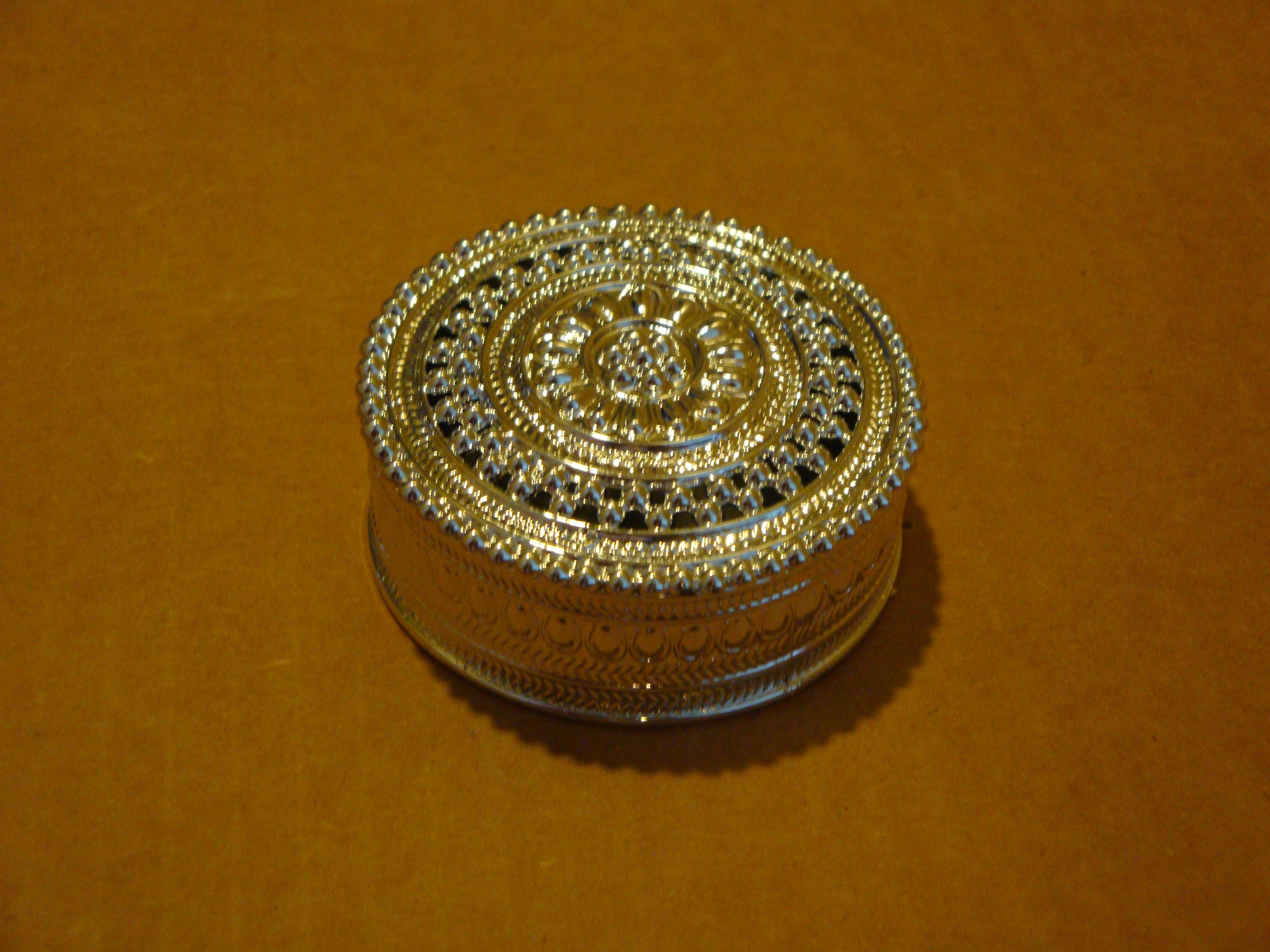 Silver Plastic Jewelry Gift Box (4) $1.50 each
