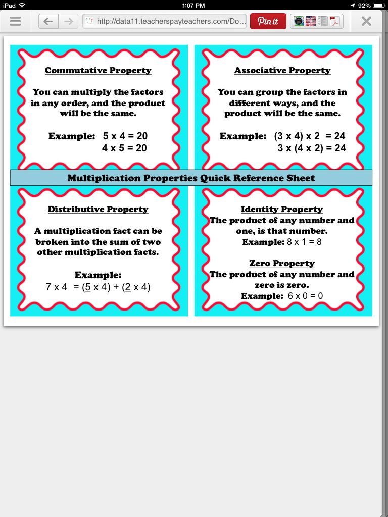 worksheet. Properties In Math. Worksheet Fun Worksheet Study Site