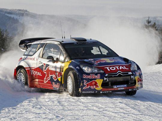 Citroen DS3 WRC rally car