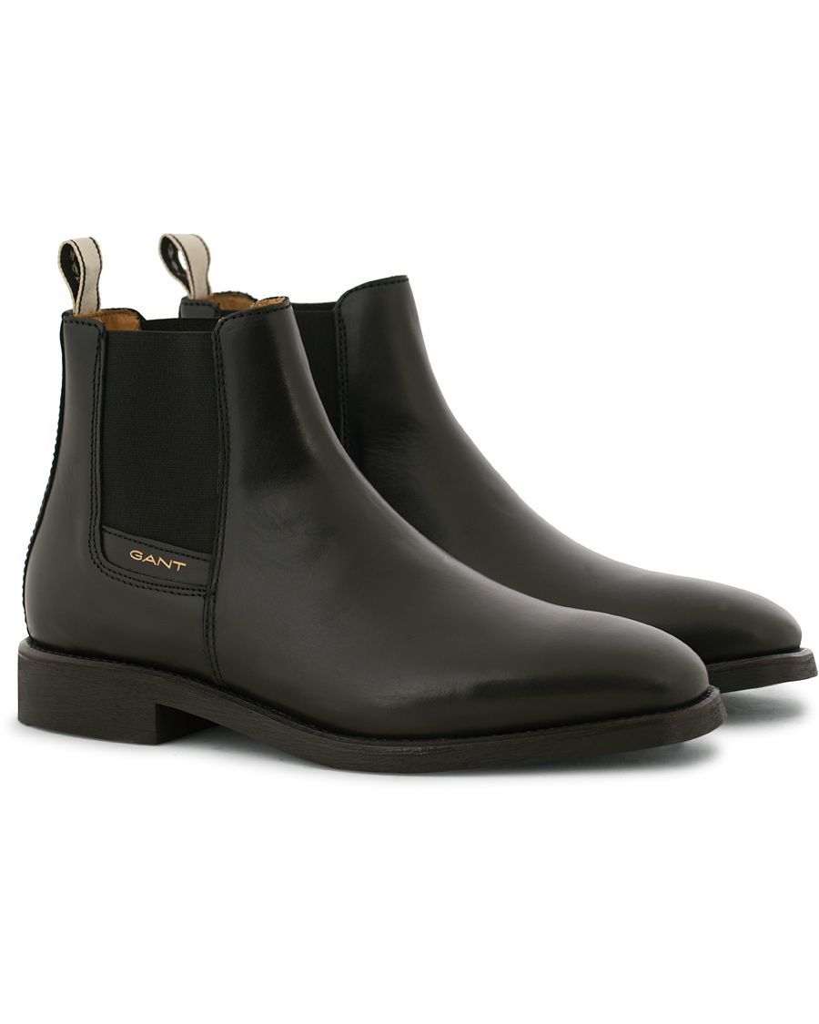 293cd360144 Gant James Chelsea Boot Black Calf i gruppen Design A / Skor / Kängor /  Chelsea