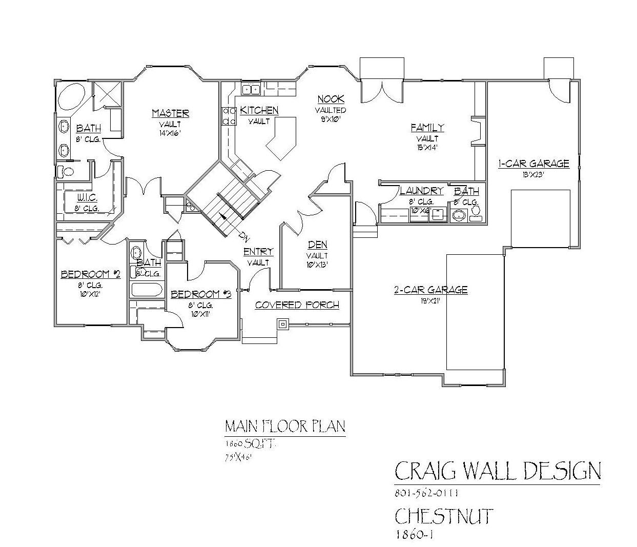 Chestnut Davinci Homes Llc Floor Plans Great Room Layout House Floor Plans