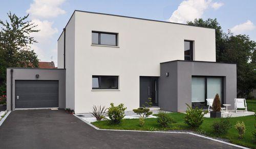 Modèles et plans de maisons u003e Modèle à étage Limendous - plan de maison avec patio