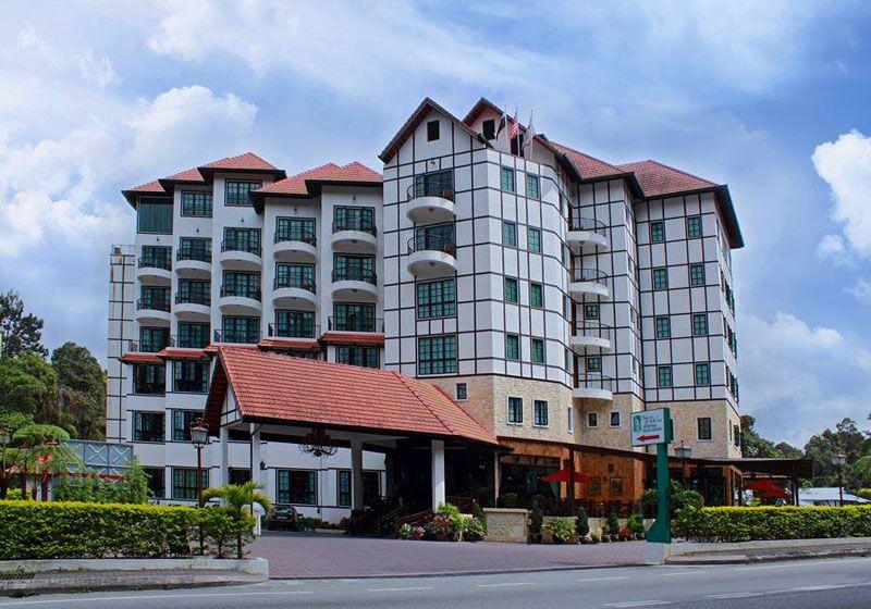 Entrance Hotel De La Ferns Cameron Highlands Malaysia