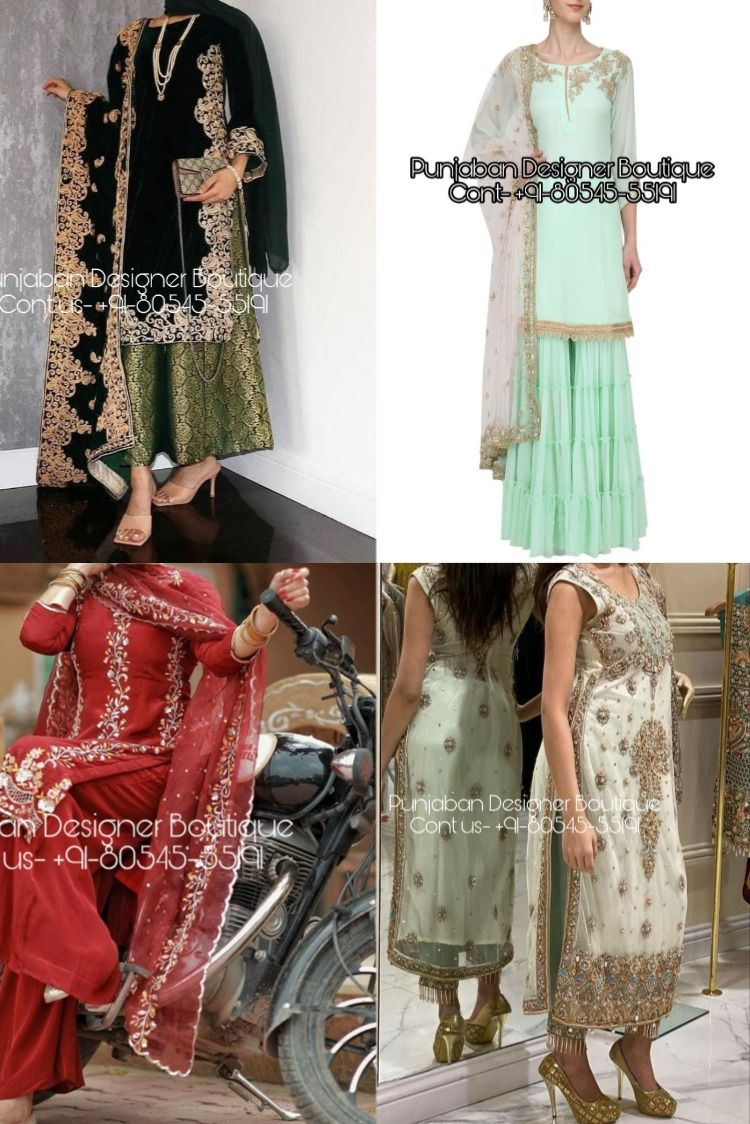 Buy Punjabi Suit For Various Ocassions In India Shop From The Latest Coll Salwar Suit Neck Designs Punjabi Suits Online Shopping Salwar Kameez Online Shopping