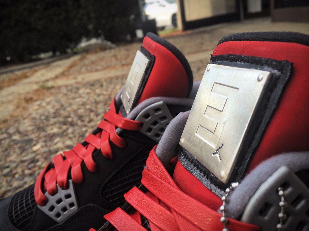 Air Jordan 4 Customs for Eminem s