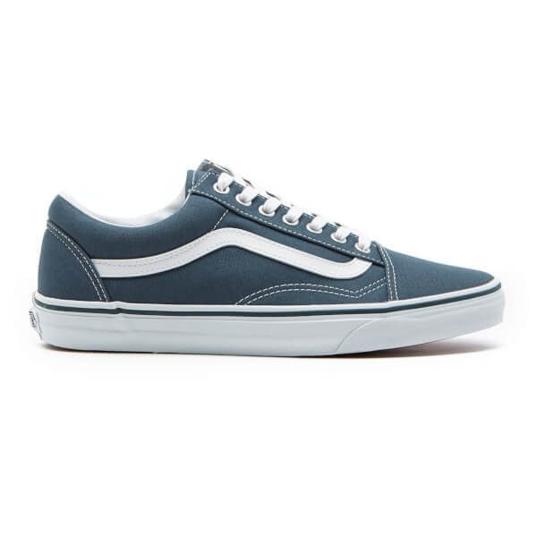 Vans Men S Old Skool Canvas Trainers 44 Liked On Polyvore Featuring Men S Fashion Men S Shoes M Mens Dark Brown Shoes White Shoes Men White Sneakers Men