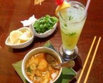 Vegetarian Samosa Soup from Mandalay Burmese Restaurant on California Street #examinercom