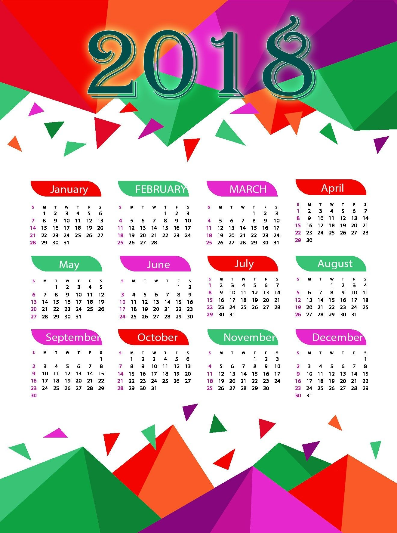 full year pocket calendar 2018 calendar 2018 design full year pocket calendar 2018