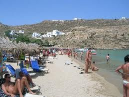 greece beaches Mykonos nude