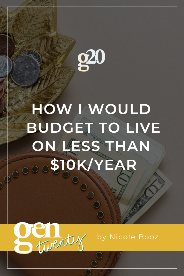 How I Would Budget To Live On Less Than 10k Year Budgeting