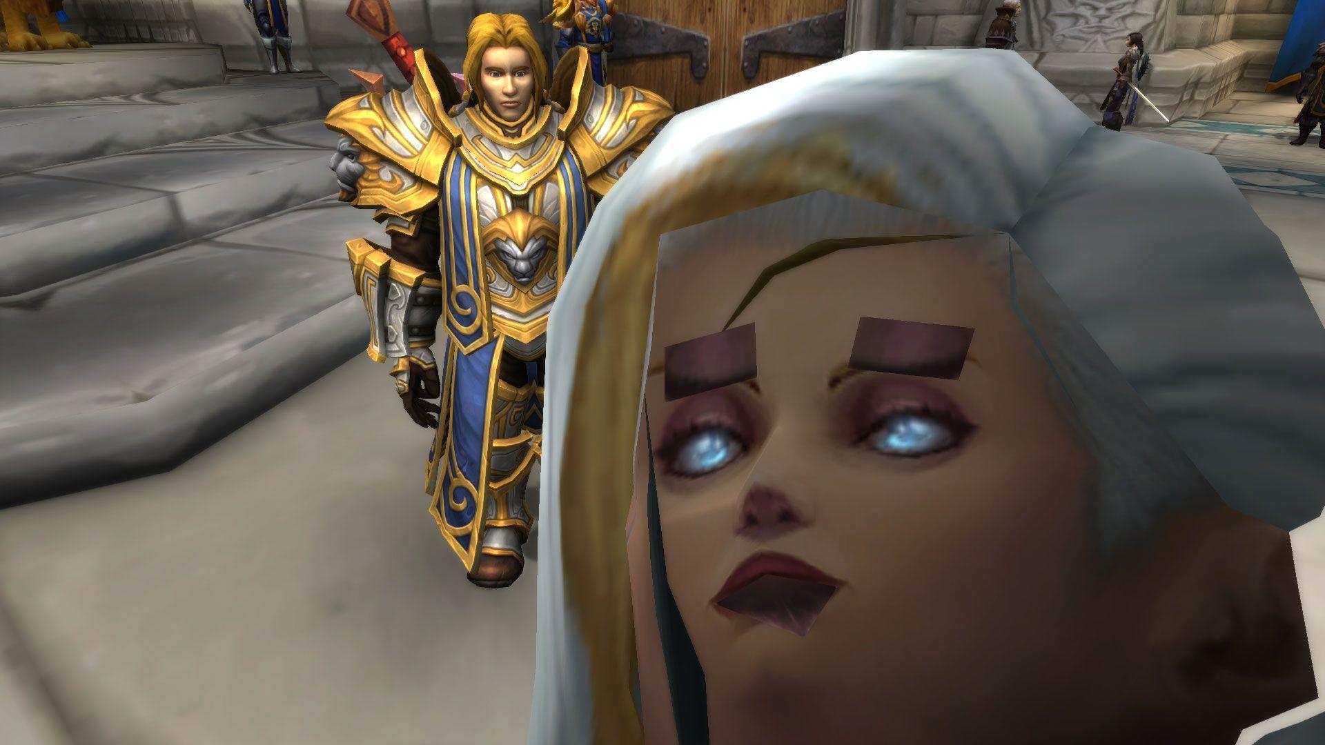 World Of Warcraft Wallpaper Bfa: I Accidentally Walked Into Jaina On BfA Alpha And This
