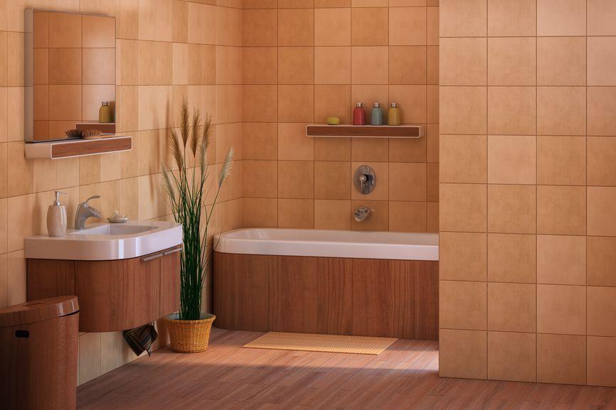 52 Master Bathroom Designs with Beautiful Woodwork Minimal
