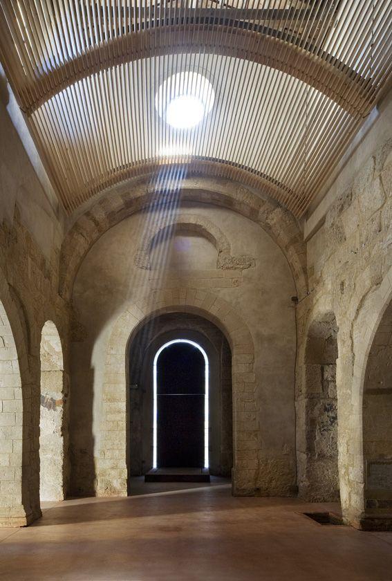 Basilica paleocristiana di san pietro siracusa emanuele for Arquitectura de interiores upm