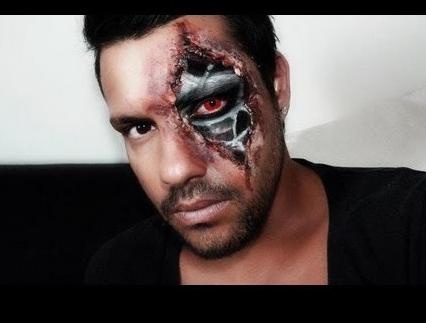 Terminator Terminator makeup, Special effects makeup, Makeup