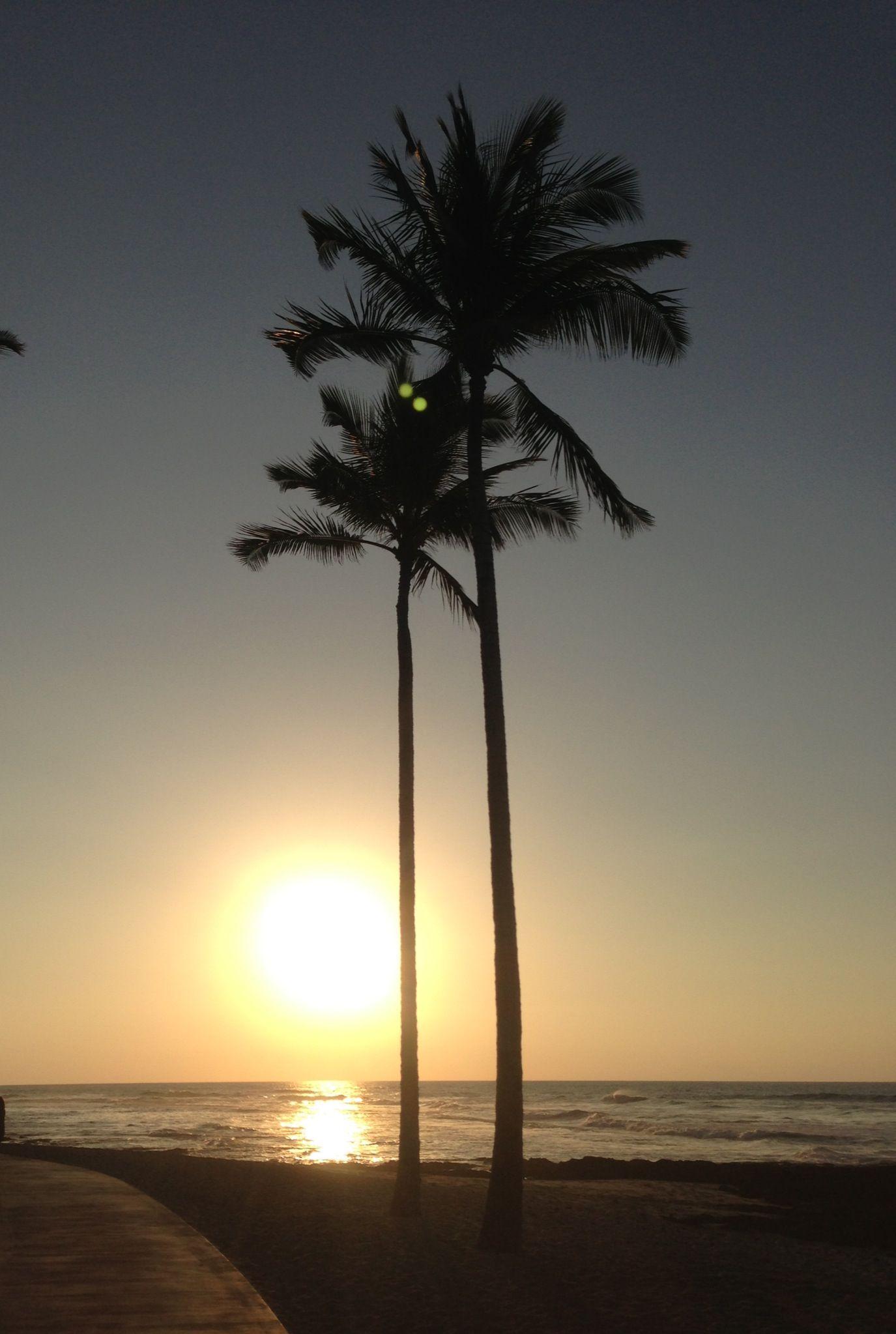 Sunset at Four Seasons Hualalai (KailuaKona, HI