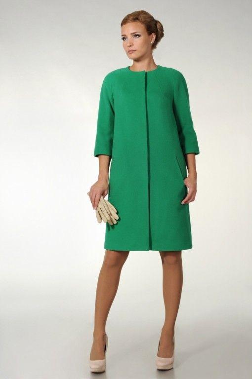 Фото Пальто женское SUCCESS, арт. 14362 салатовый (цвет ...
