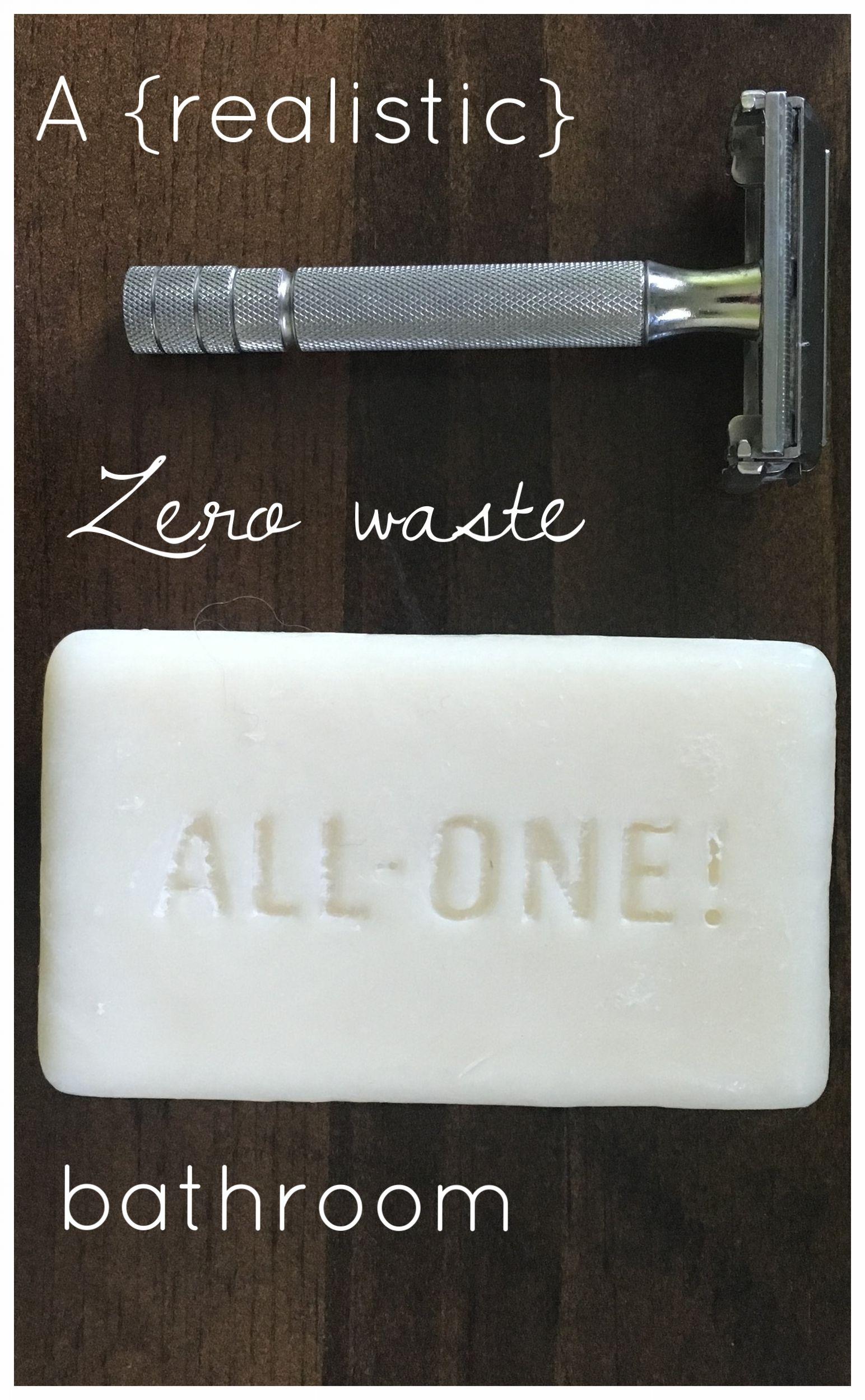 A Zero Waste Bathroom Minimalism Minimalist