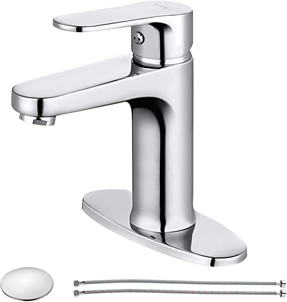 soka single handle bathroom sink faucet