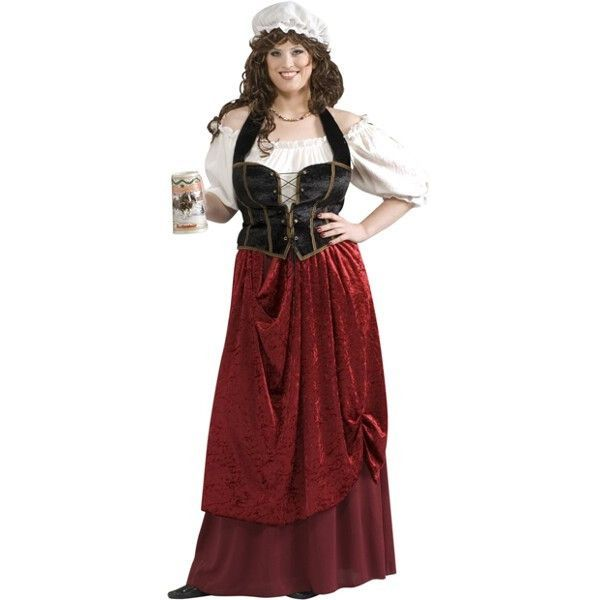 Adult Plus Size Tavern Wench Costume rpg Pinterest RPG - halloween costume ideas plus size