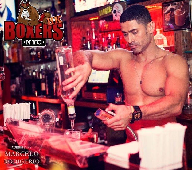 Gay sports bar new york
