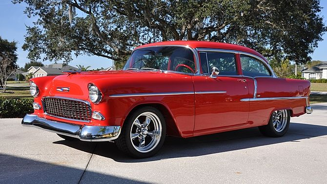 1955 Chevrolet Bel Air 350 Ci Presented As Lot S12 At Kissimmee