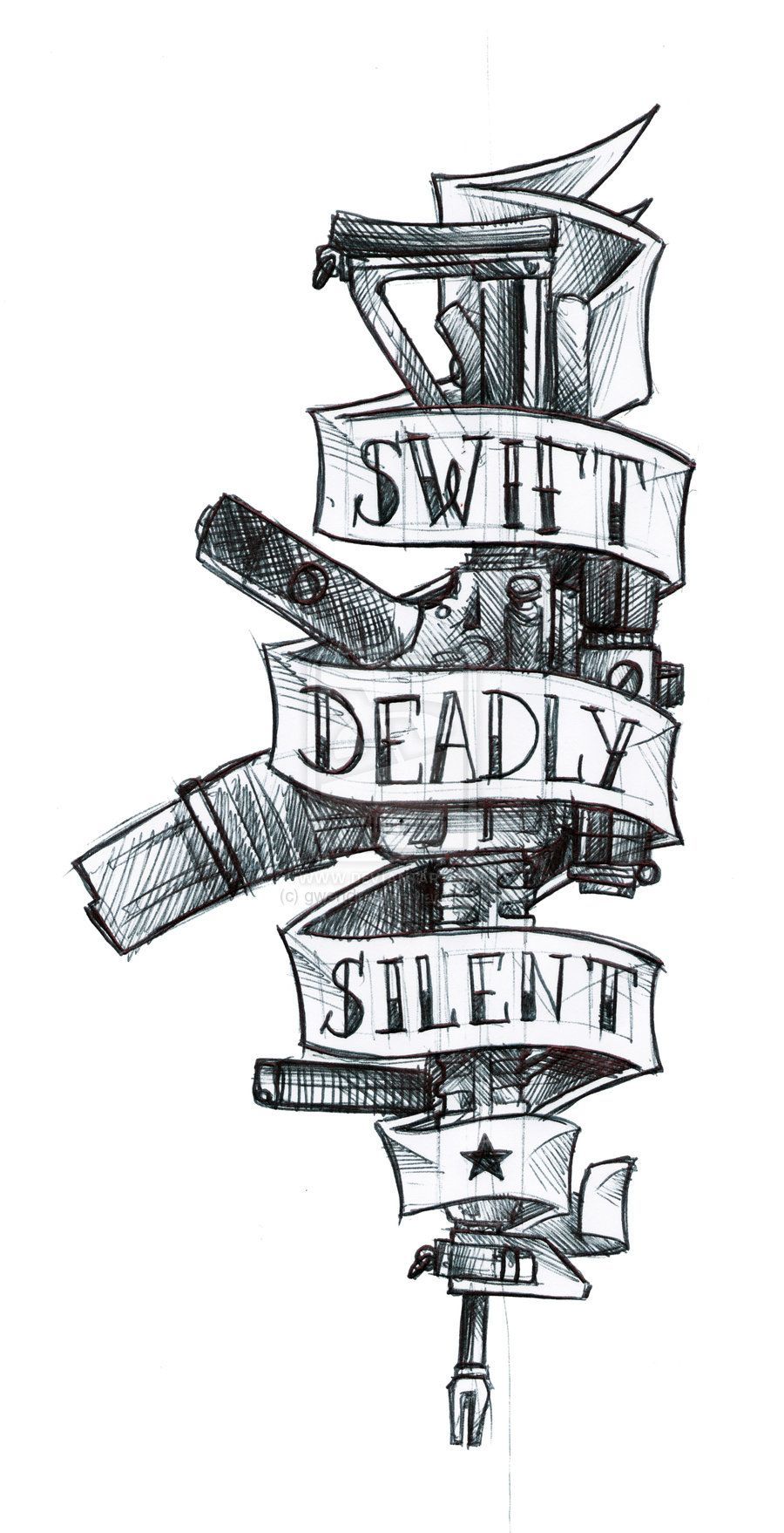 Swift deadly silent by SteveGolliotVillers.deviantart.com on ...