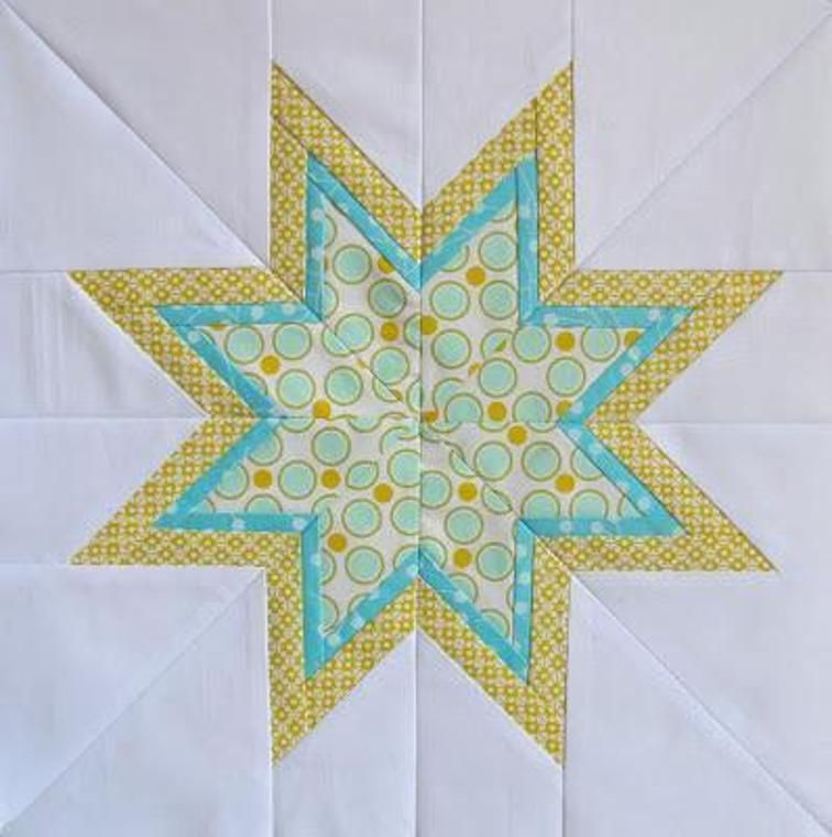 Lone Starburst Paper Piecing Templates Craftsy quilts - starburst templates