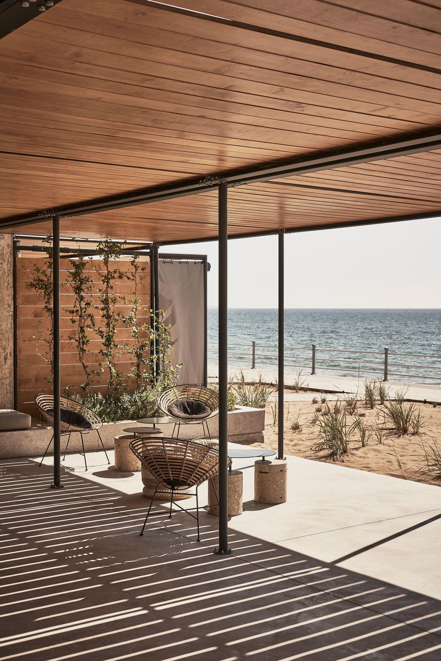 Dexamenes seaside hotel in kourouta greece by k studio yellowtrace
