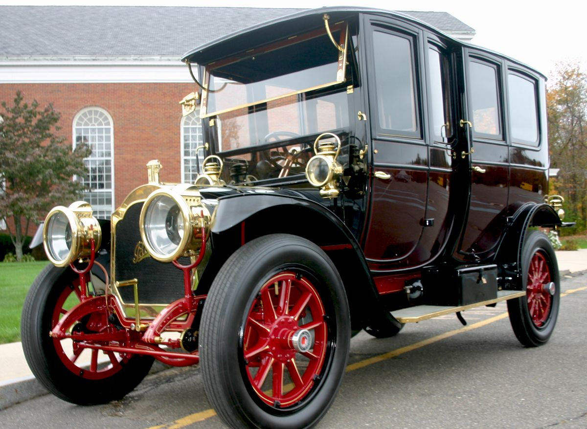 vintage limousine | 1911 Packard Fore-Door Limousine (photo credit ...