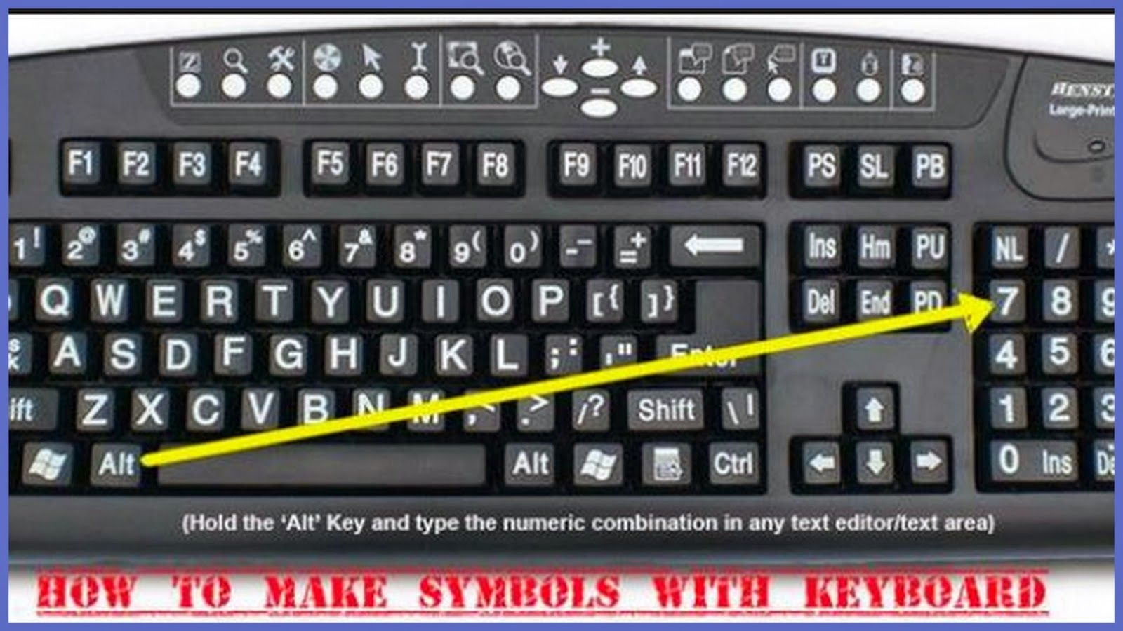 Re train your brain to happiness how to make symbols with your keyboard symbols biocorpaavc