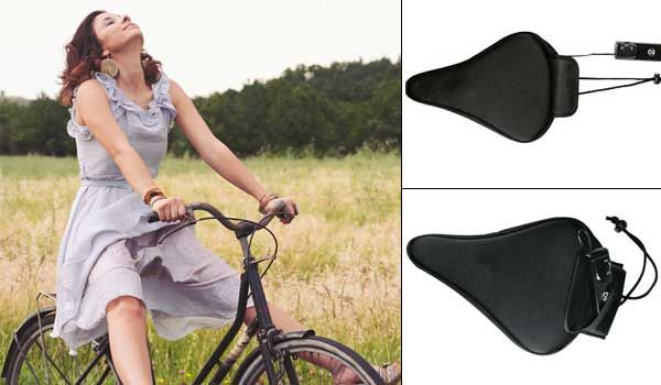 Happy Ride Vibrating Bicycle Seat To Make Cycling More Pleasurable Bicycle Seats Riding Bicycle