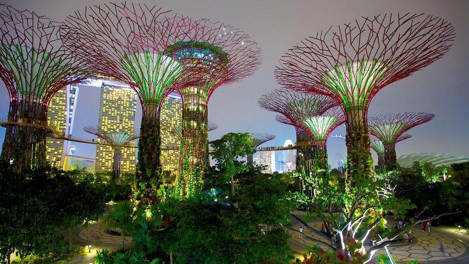 vsledek obrzku pro gardens by the bay singapore