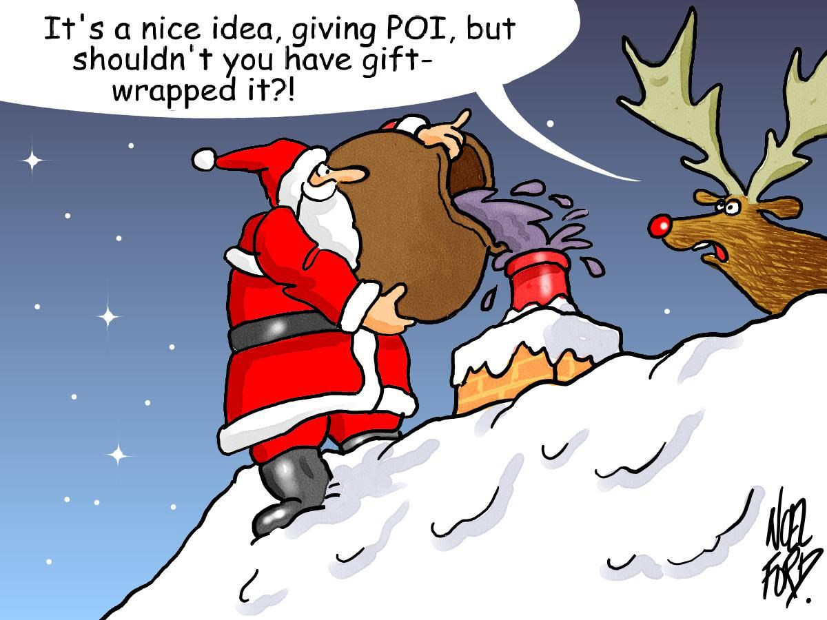 Images For > Funny Santa Cartoons For Kids Funny